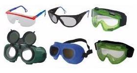 Используем правильные защитные очки для глаз