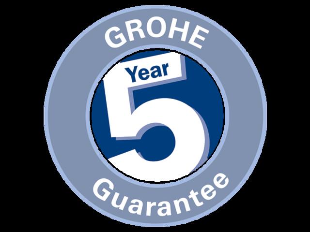 5 -Летняя гарантия производителя GROHE