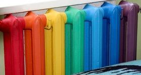 Как и чем  покрасить батарею отопления?
