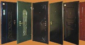 Металлические квартирные двери