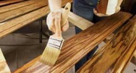 Как правильно обрабатывать древесину морилкой