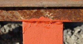 Как покрасить ржавую металлическую поверхность