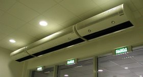 Тепловая завеса — преграда на пути холодного воздуха