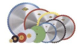 Алмазные диски режут плитку, арматуру и камень