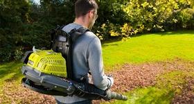 Воздуходувка-пылесос обеспечит чистоту и безупречный вид  дачного участка